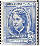 Louisa May Alcott (1832-1888) Acrylic Print