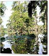 Louisiana Reflections Acrylic Print