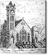 Louisianna Church 1 Acrylic Print