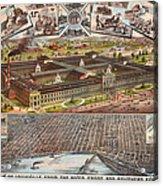 Louisville 1883 Acrylic Print