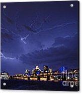 Louisville Storm - D001917b Acrylic Print
