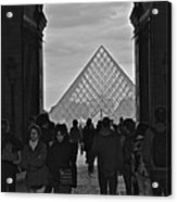 Louvre Archway Acrylic Print