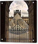 Louvre Museum Acrylic Print
