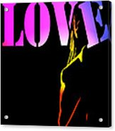 Love And Shadows Acrylic Print