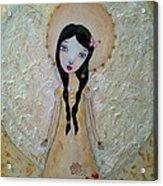 Love Angel Acrylic Print