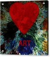 Love Art 3 Acrylic Print