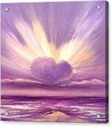 Love At Sunset Acrylic Print
