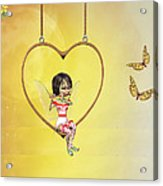 Love Fairy Acrylic Print