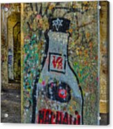 Love Graffiti Acrylic Print