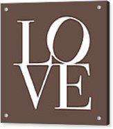 Love In Chocolate Acrylic Print by Michael Tompsett