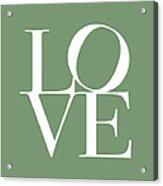 Love In Green Acrylic Print by Michael Tompsett