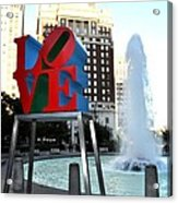 Love Is ..... A Four Letter Word Acrylic Print