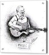 Love Of Music Acrylic Print