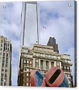 Love Park - Center City - Philadelphia  Acrylic Print