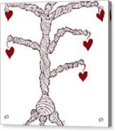 Love Tree Acrylic Print