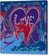 Love Triumphant 2nd Of 3  Acrylic Print