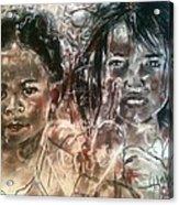 Love Warriors Acrylic Print
