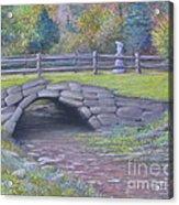 Lovely Day At Idewild Park Acrylic Print