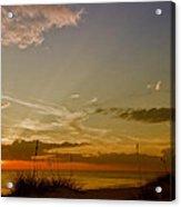 Lovely Sunset Acrylic Print