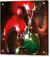 Loving Aliens Acrylic Print