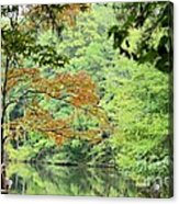 Loving The Season Of Autumn Acrylic Print