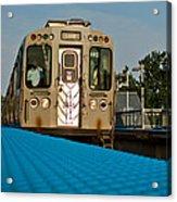 Low Angle Train Acrylic Print
