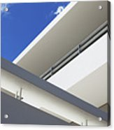 Low Angle View Of Modern Apartment Acrylic Print