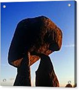 Low Angle View Of Proleek Dolmen Acrylic Print