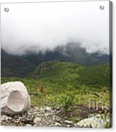 Low Clouds, Quebec Acrylic Print