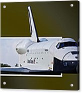 Low Pass Acrylic Print by Lawrence Ott