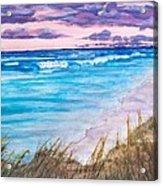 Low Tide Acrylic Print by Jeanette Stewart