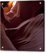 Lower Antelope Eleven Am On The Dot Acrylic Print