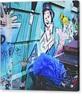 Lower East Side Street Art Acrylic Print