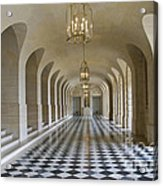 Lower Gallery Versailles Palace Acrylic Print