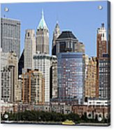 Lower Manhattan New York City Skyline Acrylic Print