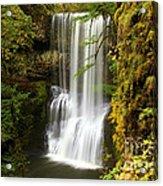 Lower South Falls At Silver Falls Acrylic Print