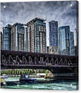 Lsd Lake Shore Drive In Color Acrylic Print