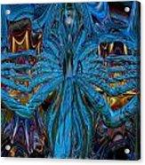 Lsd Neon Flower Fx  Acrylic Print