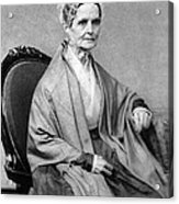 Lucretia Coffin Mott, American Activist Acrylic Print by Photo Researchers
