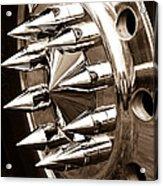Lug Nuts Acrylic Print