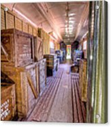 Luggage Car Acrylic Print