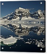 Luigi Peak Wiencke Island Antarctic Acrylic Print by Colin Monteath