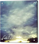 Luke 1:78 Esv  Because Of The Tender Acrylic Print by Kel Hill