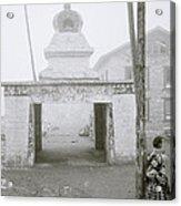 Lukla In The Himalaya Acrylic Print