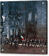 Luks - Blue Devils 1918 Acrylic Print