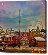 Luna Park-a-rama Acrylic Print