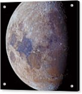 Lunar Colors Acrylic Print