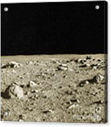 Lunar Surface Acrylic Print by Science Source
