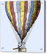 Lunardi's Balloon, 1784 Acrylic Print