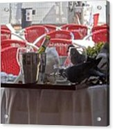 Lunch At San Marco Acrylic Print